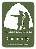 lewis and clark badge